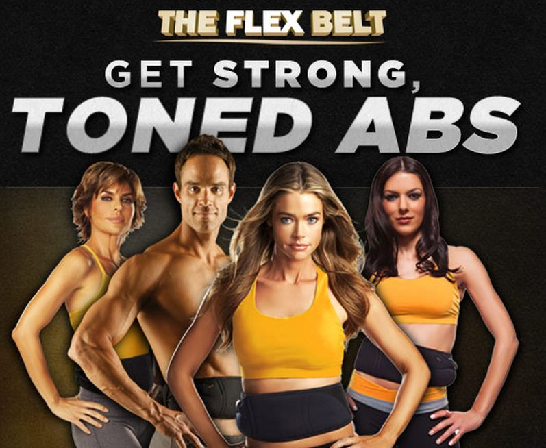 Flex belt toned abs